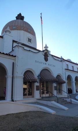 Quapaw Bathhouse : Quawpaw Bathhouse