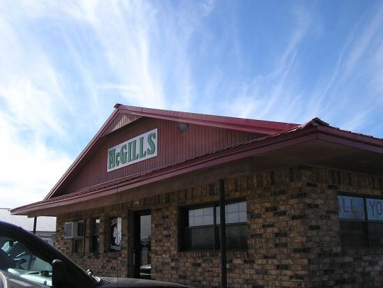 Warner, OK: McGills Cowhand Cafe