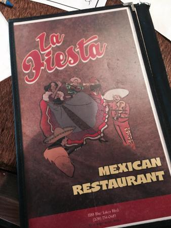 La Fiesta Mexican Restaurant: Menu
