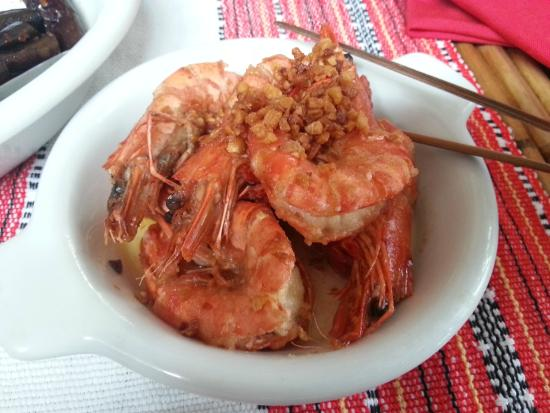 Abaseria Cafe and Deli: Chili Prawns