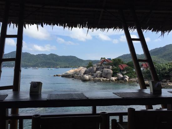 Charm Churee Villa: View from breakfast...
