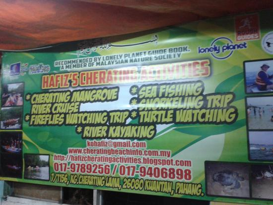 Cherating River : some activities you might be interested