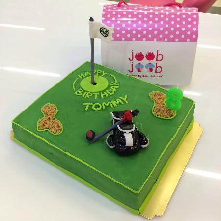 Marvelous Golf Themed Birthday Cake B2 500 Picture Of Passion Restaurant Funny Birthday Cards Online Aeocydamsfinfo
