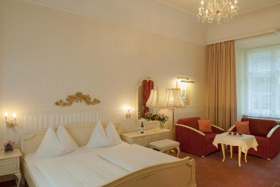 Pertschy Palais Hotel : Superiour Double Room (nice and spacious)