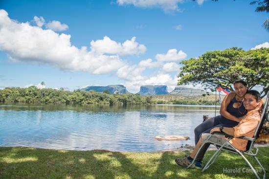 Jungle Rudy's Ucaima Camp: Vista espectacular