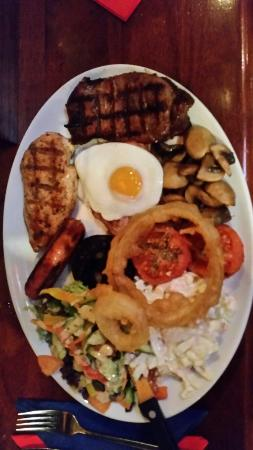 Cattlemens: OMG the mixed grill was amazing