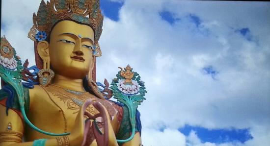 The Grand Dragon Ladakh: monastery on the way to Nubra valley