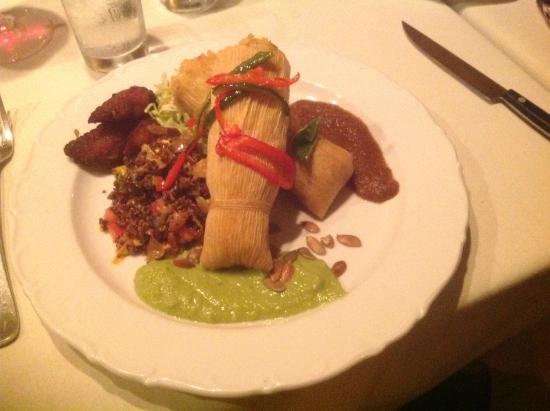 Tina's: The vegan or vegetarian tamales
