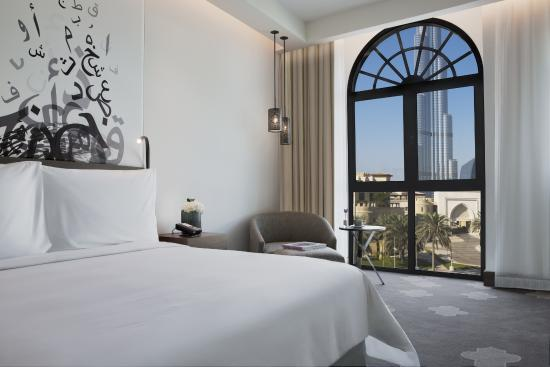 Manzil Downtown: Deluxe Burj view room