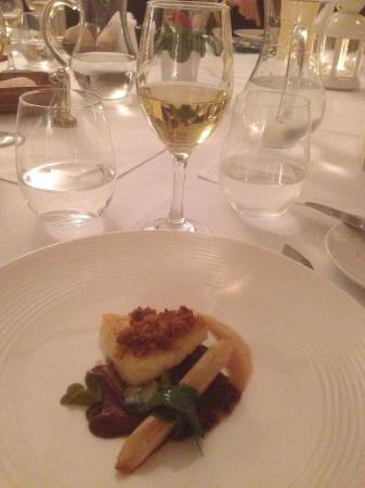Kingston Bagpuize, UK: Brill by name and nature - dish of the day for me!