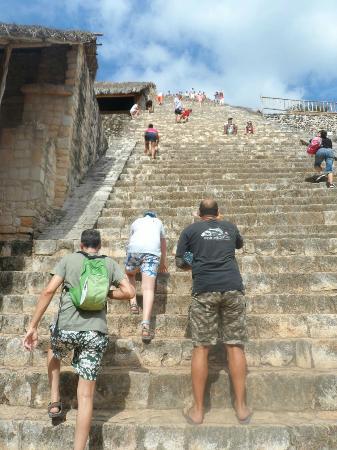 Experiencias Riviera Maya: Pie de la ruina