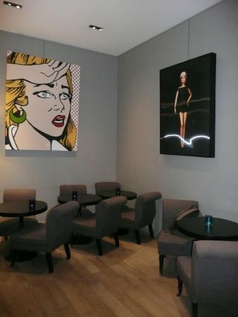 Hôtel Tour d'Auvergne : Salon