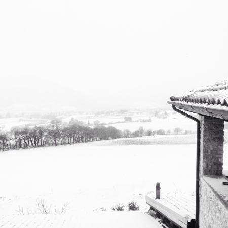 Il Casale degli Amici: Neve!!