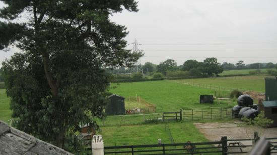 Woodbank, UK: View from room