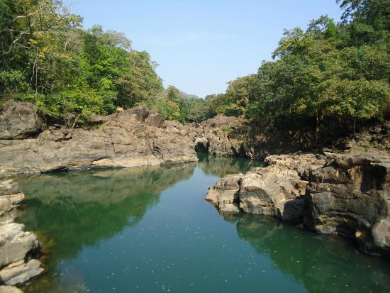 South Goa District, Indie: Devil's Canyon is nature's wonder within the sanctuary.