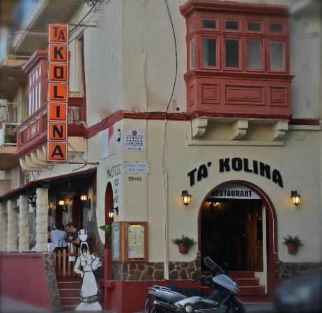 Ta' Kolina : Ta Kolina Restaurant
