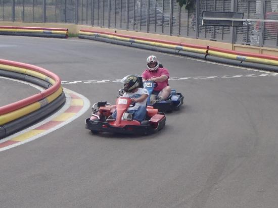 IBIZA KARTING San Antonio: Karting with the racers 2013
