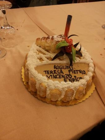 Il Postiglione : questa è una delle fantastiche torte