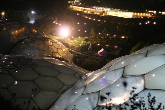 Hangloose At Eden Project Romantic Night Flights In November