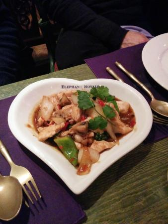 Elephant Royale - Docklands: one of our lovely dishes