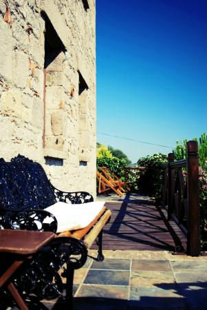 Assos Alarga, Bed and Breakfast: Terrace