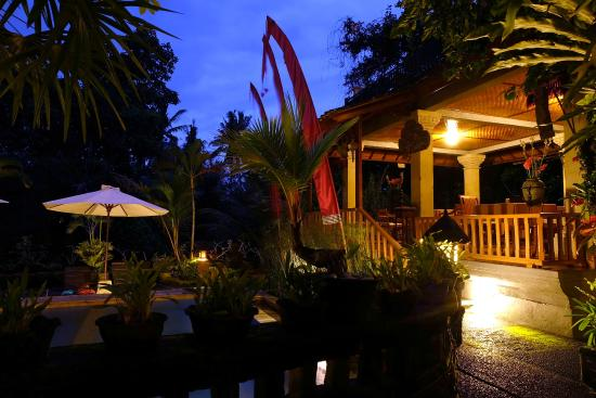 Ketut's Place : Swimming pool at night