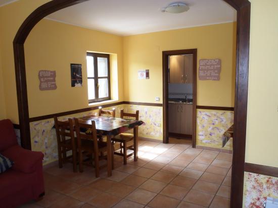 Rodellar, Spania: Salón clientes