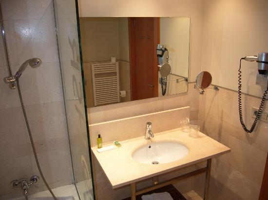 Hotel Sant Roc: bathroom