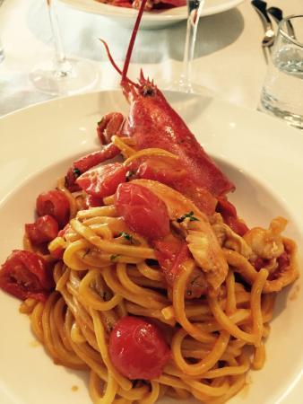Pescheria Rossini : Astice pulito!!!!