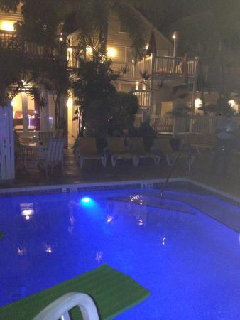 Equator Resort: Heated pool original property