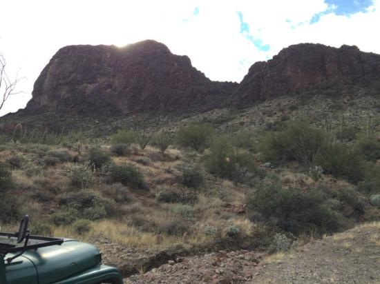 BC Jeep Tours : mountain veiw