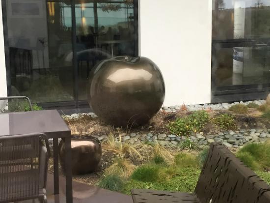 Thalazur de Cabourg : déco extérieur restaurant