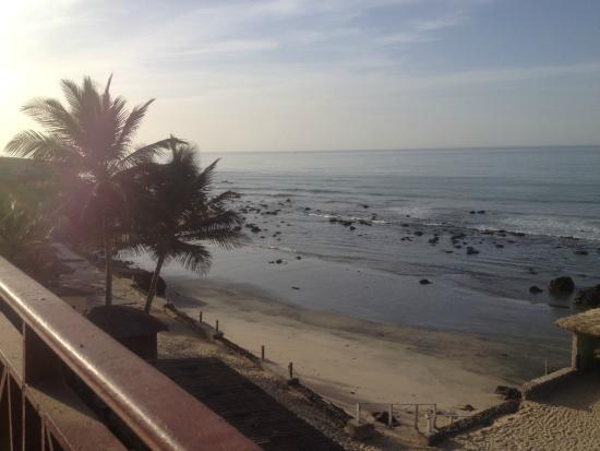 African Village Hotel: beach