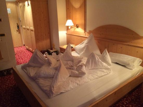 Hotel Dorfer: Bettenkunst