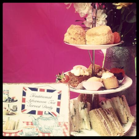 Afternoon tea at tiffin