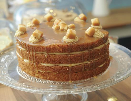 Tiffin's famous butterscotch cake