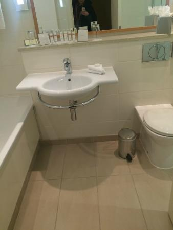 Bathroom (also a stand in shower round to the right) - Picture of ...