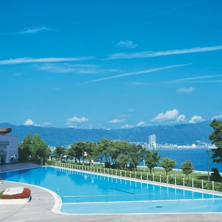 Swimming Pool Open Only In Summer Picture Of Lake Biwa Otsu Prince Hotel Otsu Tripadvisor
