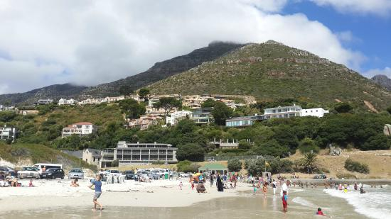 Hout Bay View: View of the beach from the harbour.