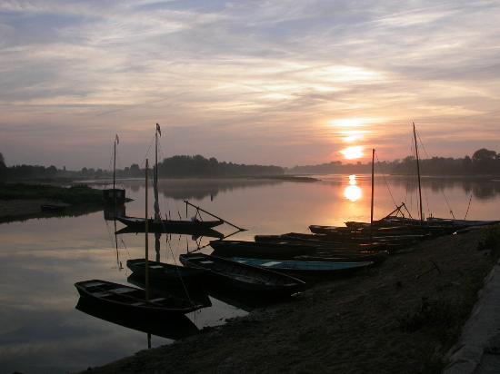 Rochefort-sur-Loire, Francia: Port