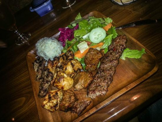 Aspendos Grill & Bar: The Mixed Grill!
