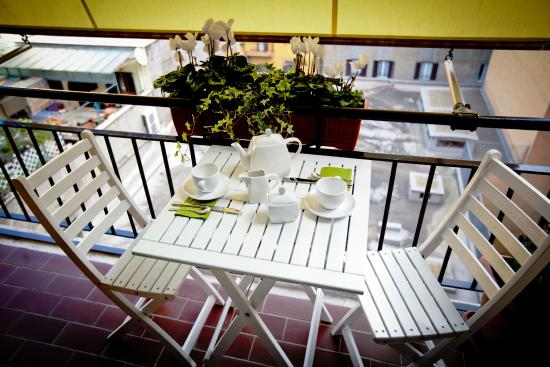 Castellani a San Pietro: balcony