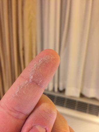 The Zen Hotel: Dust from mirror