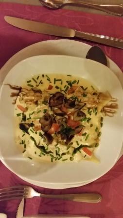 La Croq'au Sel : ravioles de langoustes