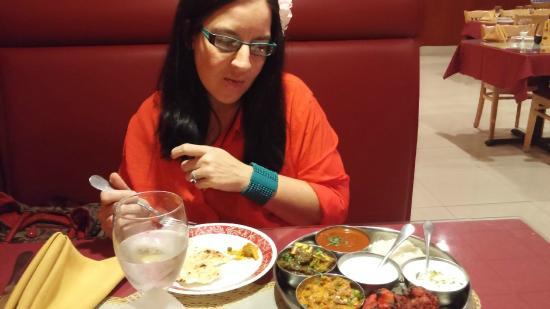 TAJ Indian Cuisine: what choice and taste....