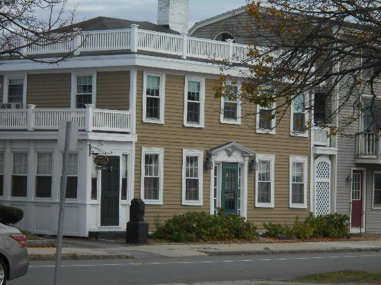 The Inn at Babson Court: the front of the Inn