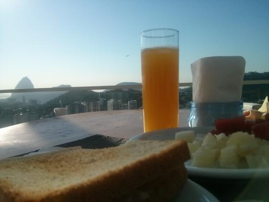The Villa: Café da manhã com uma vista inspiradora