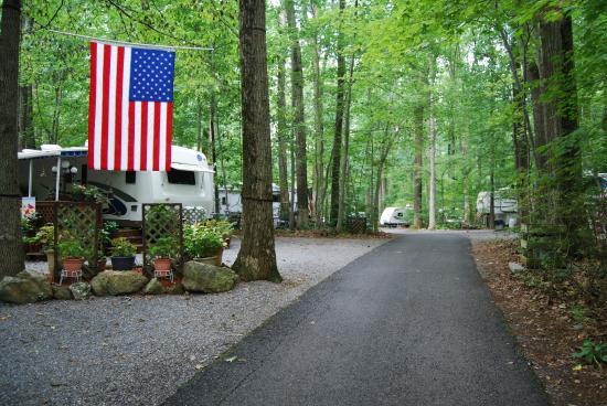 Ole Mink Farm Recreation Resort: Seasonal Campsites available