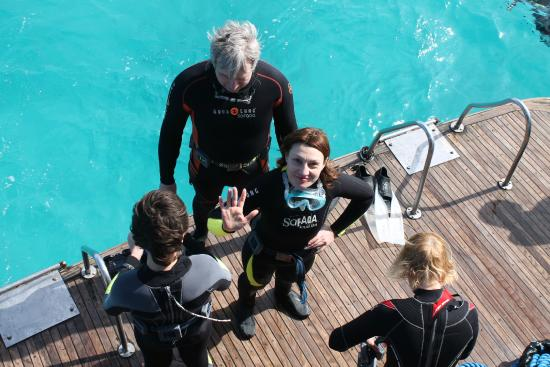 Funnydivers Diving Center: Новички