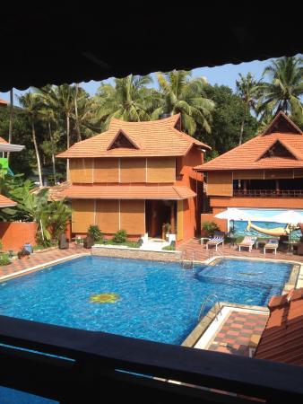 Anamika Ayurvedic Heritage: View from balcony